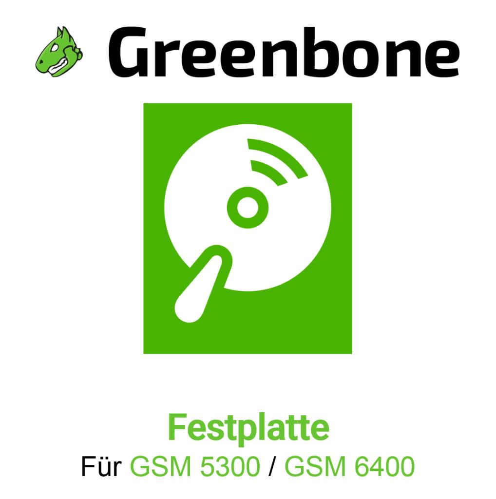 Greenbone GSM 5300 Harddisk