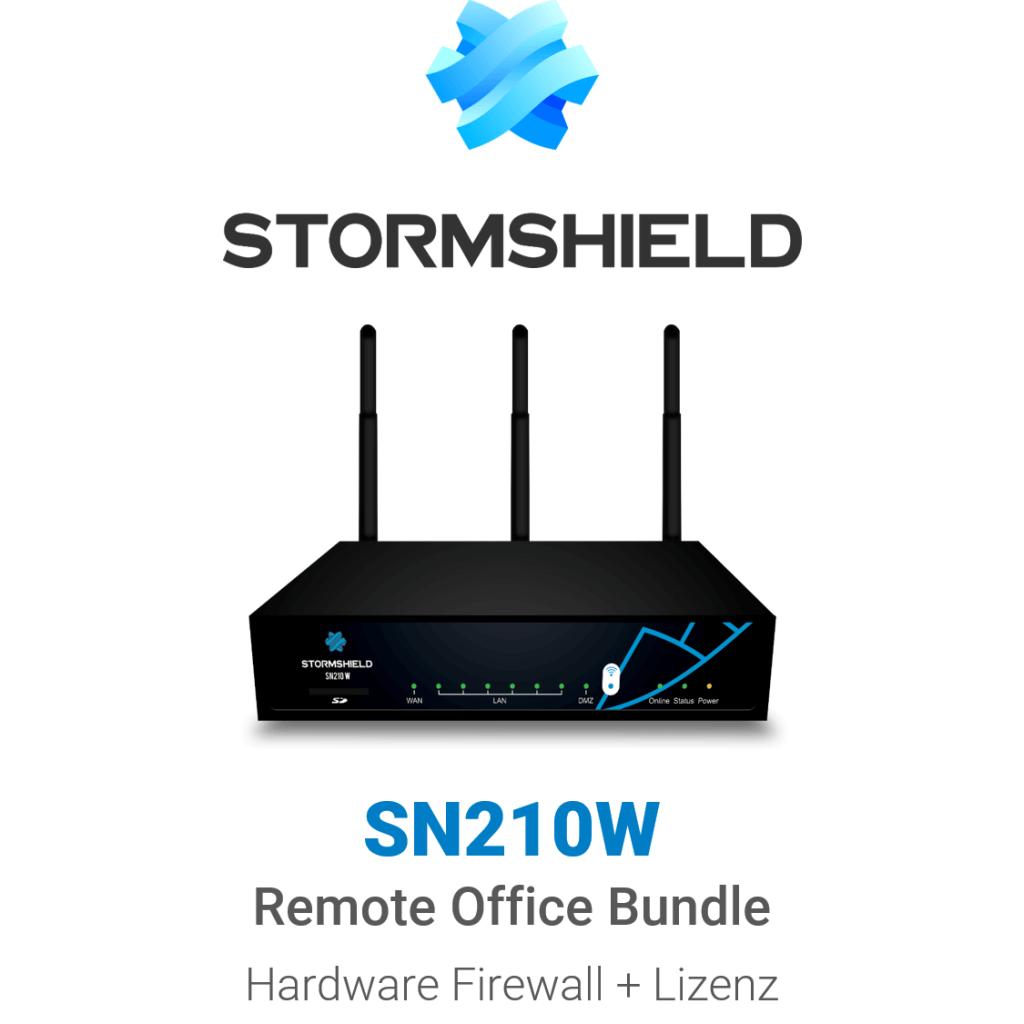 Stormshield SN 210 WiFi Remote Office Bundle (Hardware + Lizenz)