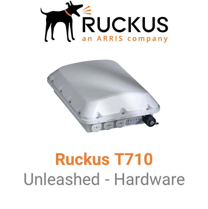 Ruckus T710 Outdoor Access Point - Unleashed