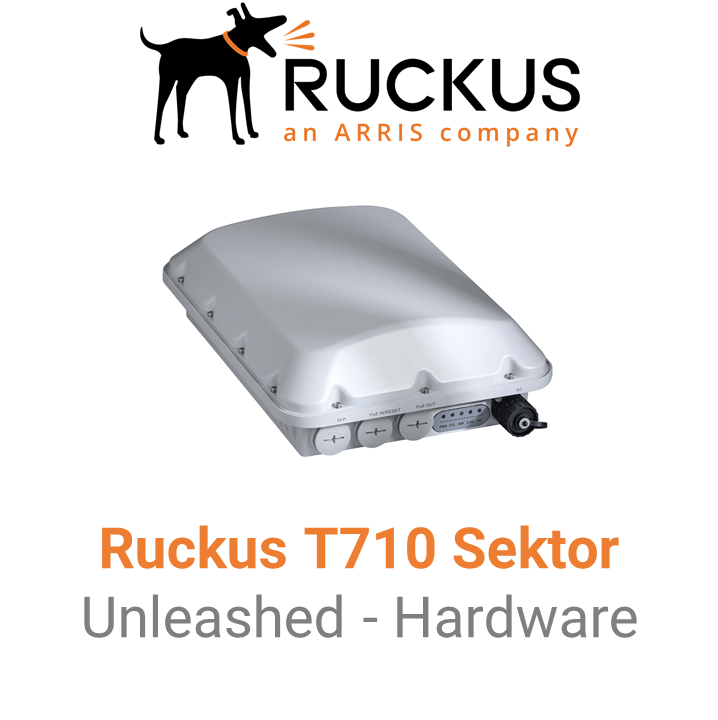 Ruckus T710s Outdoor Access Point - Unleashed