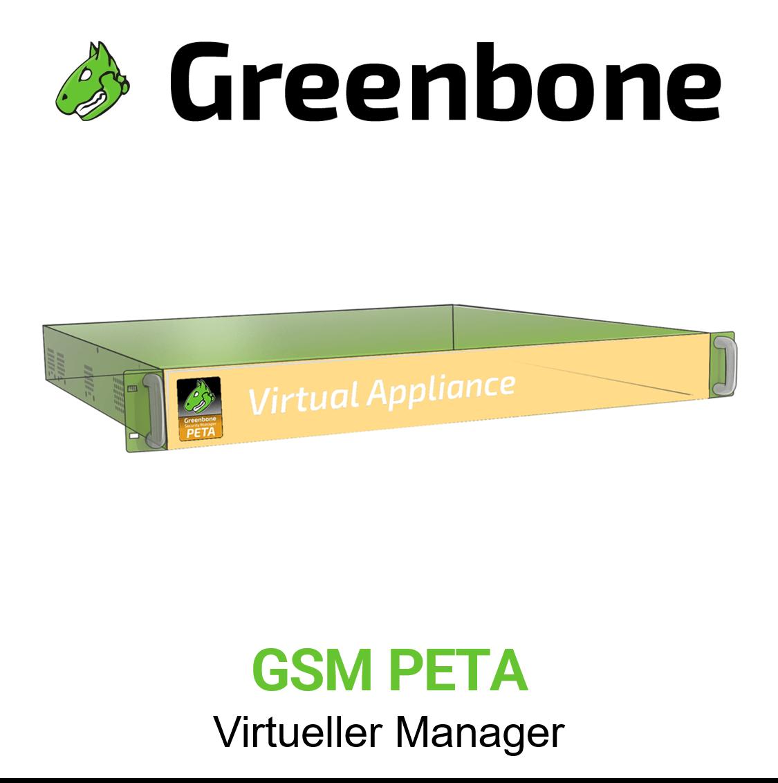 Greenbone GSM PETA Virtuelle Appliance