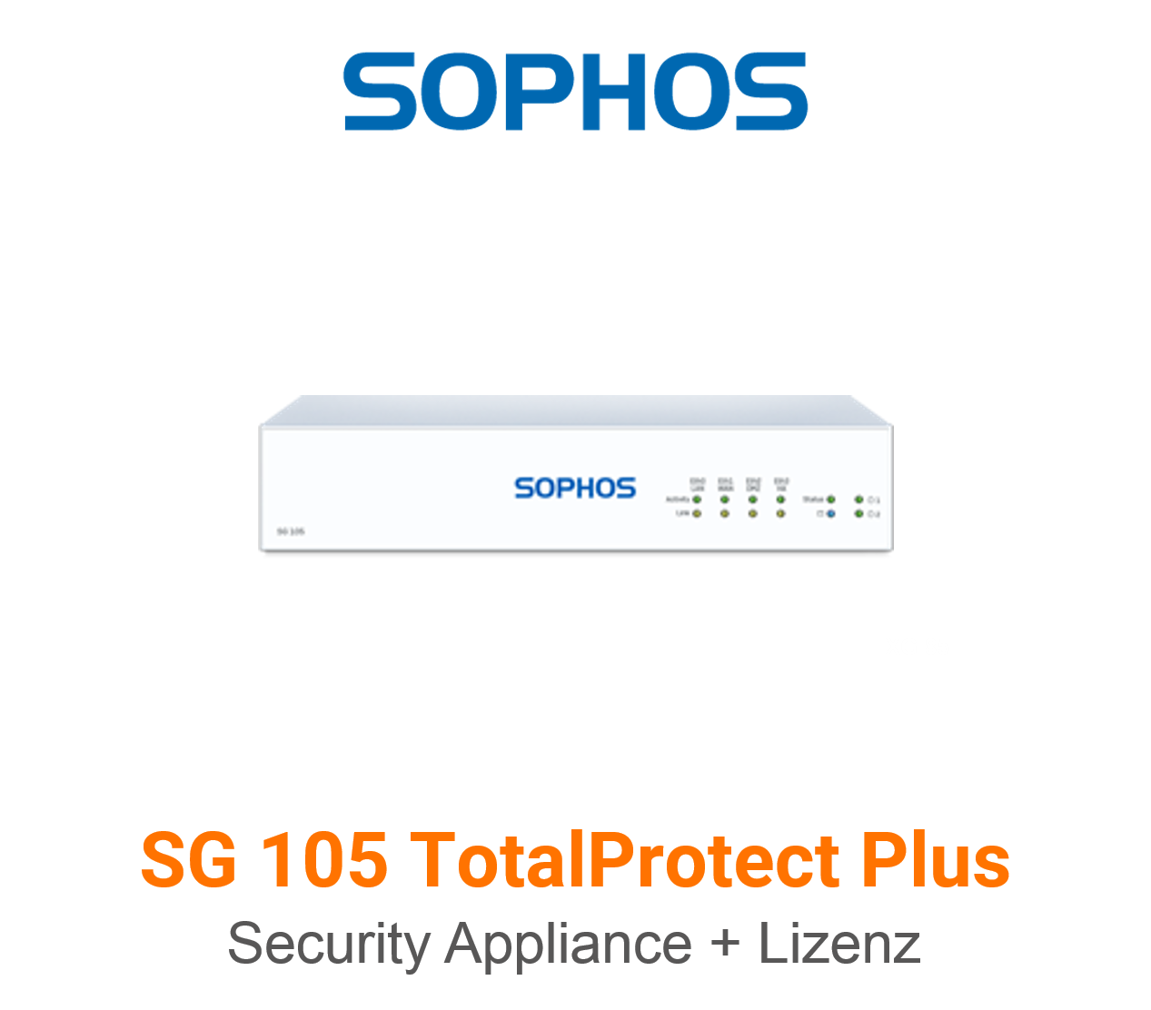 Sophos SG 105 TotalProtect Plus Bundle (Hardware + Lizenz)