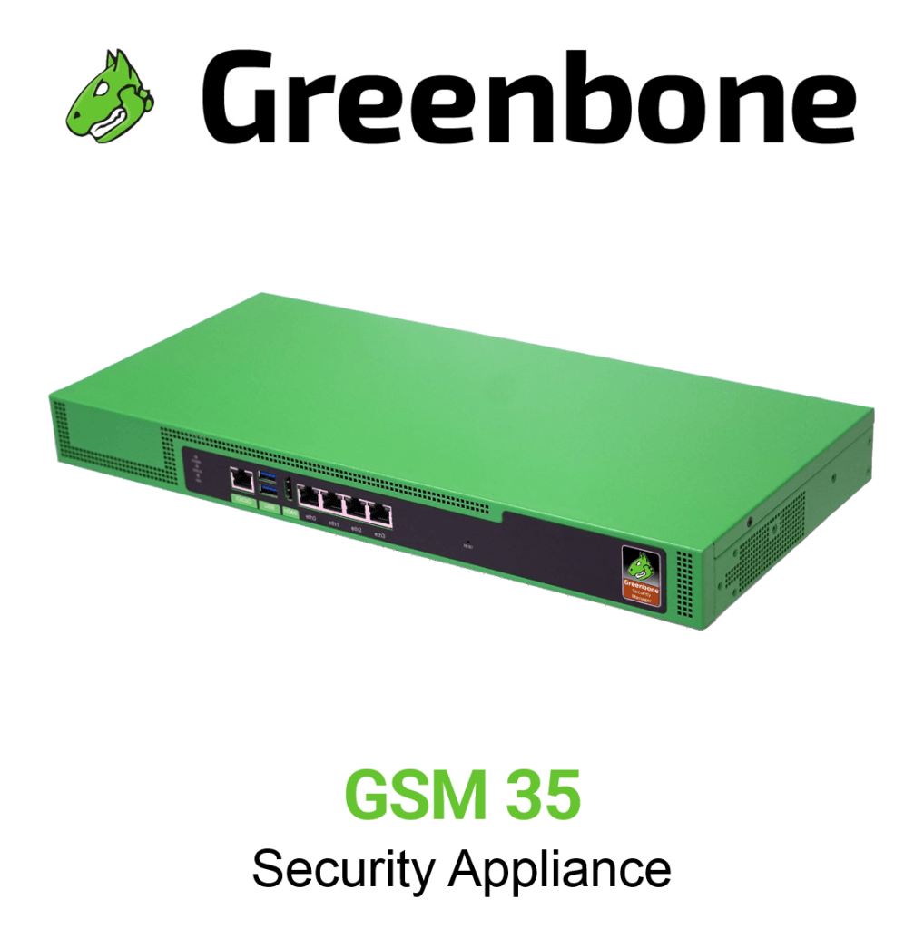 Greenbone GSM 35 Scan Appliance