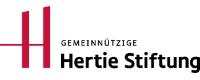 Hertie Stiftung Logo