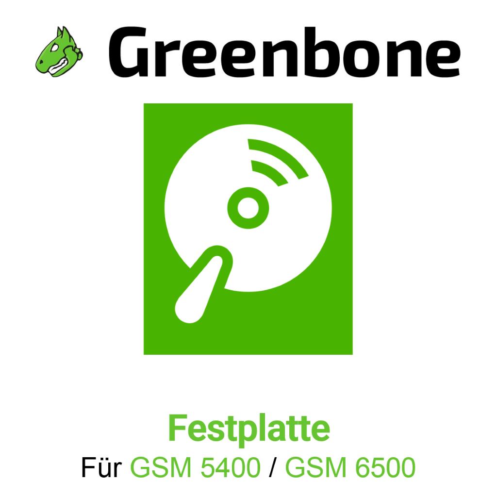 Greenbone GSM 5500 Harddisk
