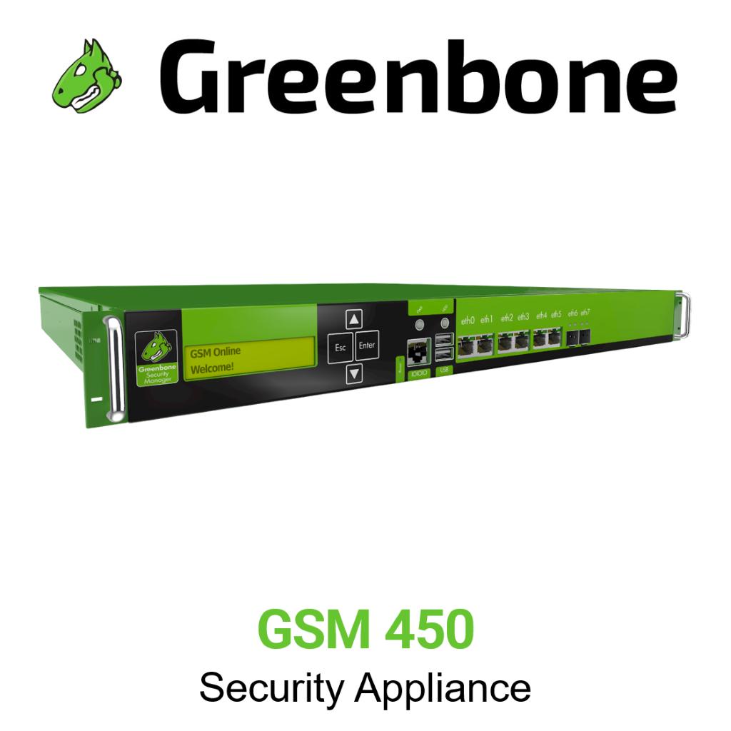 Greenbone GSM 450 Appliance