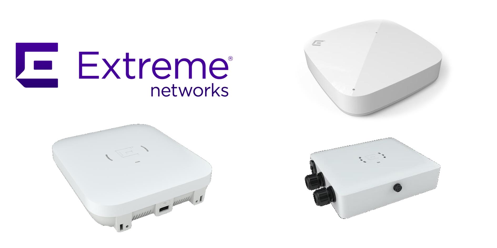 Accesspoints von Extreme Networks
