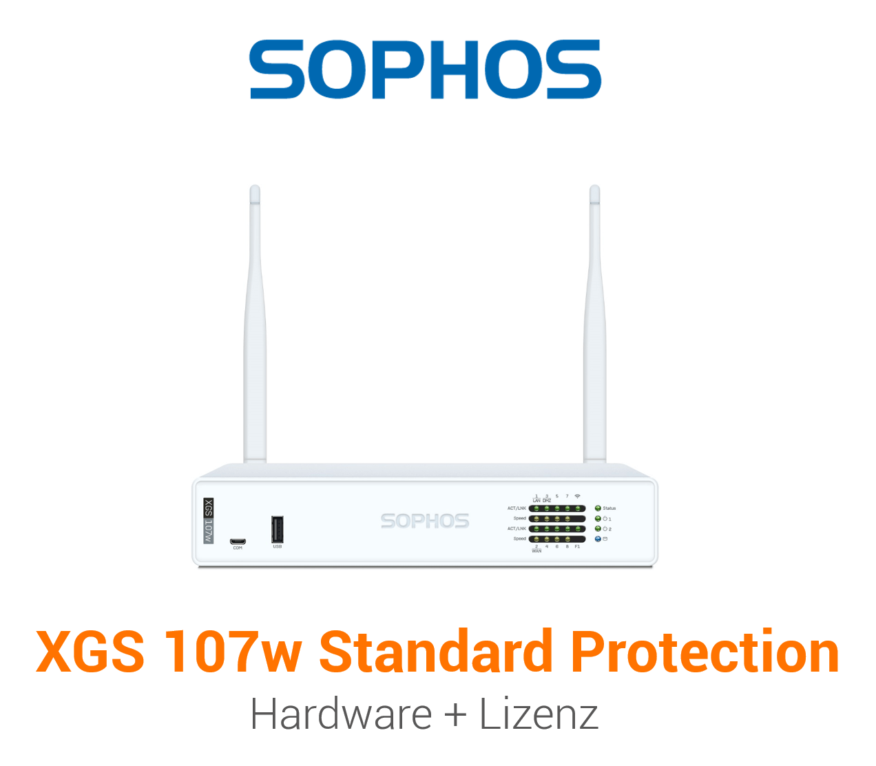 Sophos XGS 107w mit Standard Protection