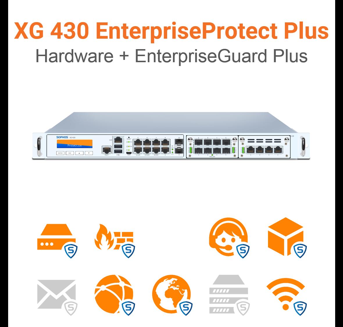 Sophos XG 430 EnterpriseProtect Plus Bundle (Hardware + Lizenz)